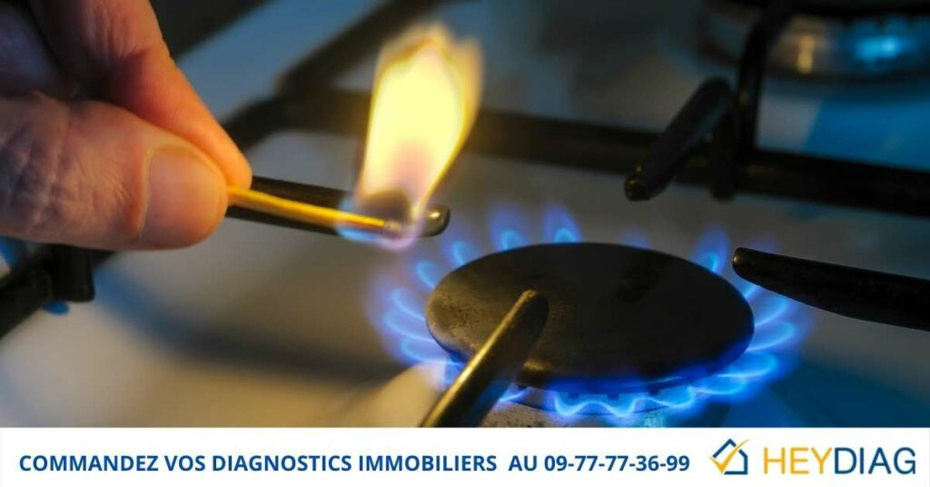 Diagnostic immobilier Gaz Vente