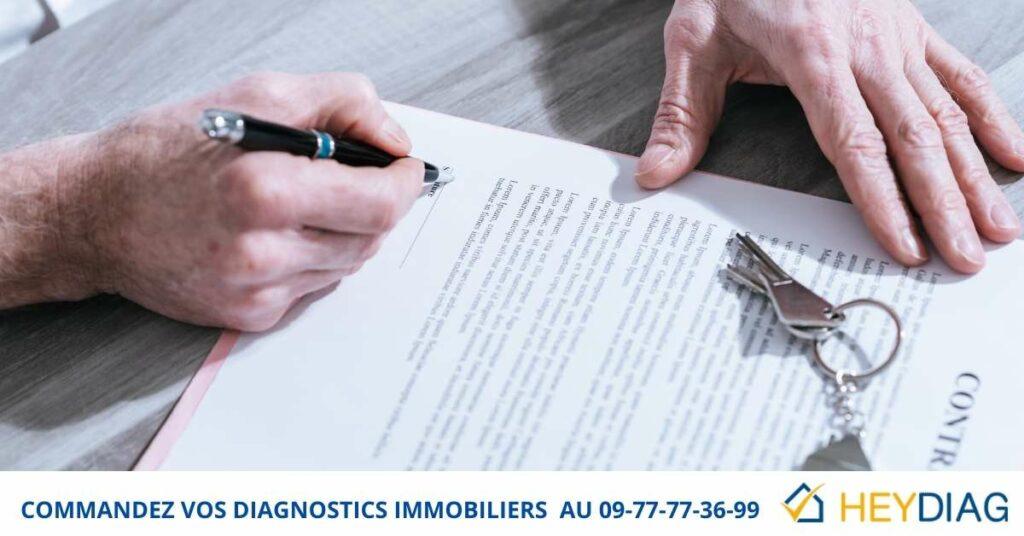 Diagnostic immobilier obligatoire vente